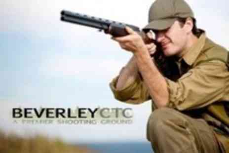 Beverley Clay Target Centre - Clay Pigeon Shooting For One - Save 69%