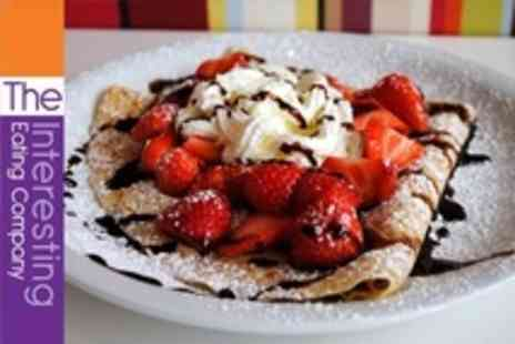 The Interesting Eating Company - Pancake and Regular Hot Drink For Two - Save 59%