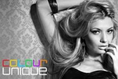 Colour Unique - Restyle Cut and Blow Dry Plus Conditioning Treatment - Save 75%