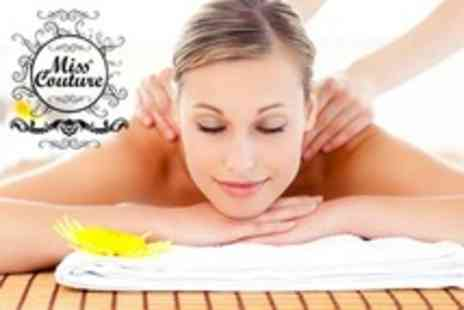 Miss Couture - Swedish Massage With Mini Facial - Save 24%