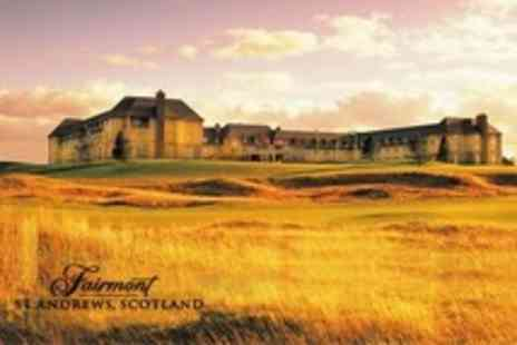 Fairmont St Andrews - One Night Stay For Two in Sea View Room With Dinner - Save 32%