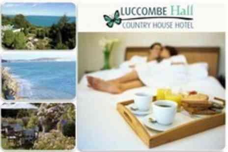 Luccombe Hall Country House Hotel - Two Night Half Board Stay For Two With Ferry Transfers - Save 0%