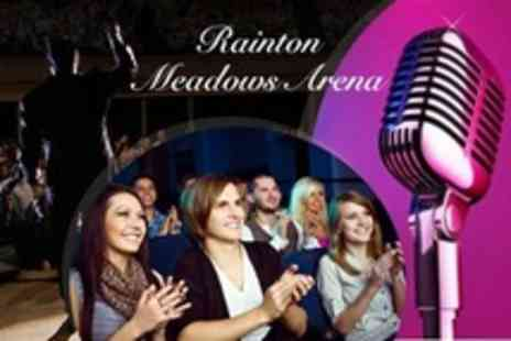 Rainton Meadows Arena - An Evening of Laughter and Live Music For One - Save 55%