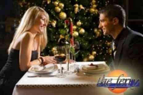 The Ferry - Christmas Party With Three Course Meal and DJ - Save 29%