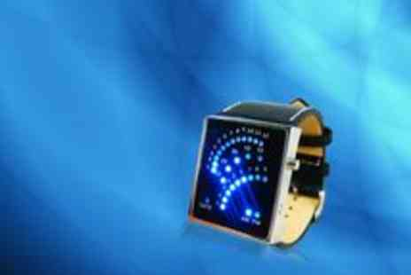 Big Bargain Store - Digital Blue LED Watch - Save 50%