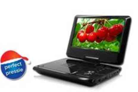 Thundertree -  9 Portable DVD player with DVBT DIVX and AVI - Save 50%