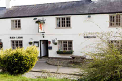 The Red Lion - Two night Cheshire break plus breakfast & afternoon tea - Save 62%