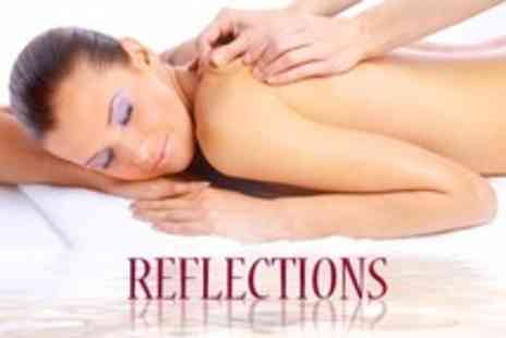 Reflections - Choice of Electrotherapy Facial Plus Back Massage and Scrub - Save 57%