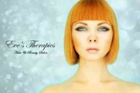 Eves Therapies - Half Head Highlights or Full Head Tint With Cut and Finish -  Save 50%