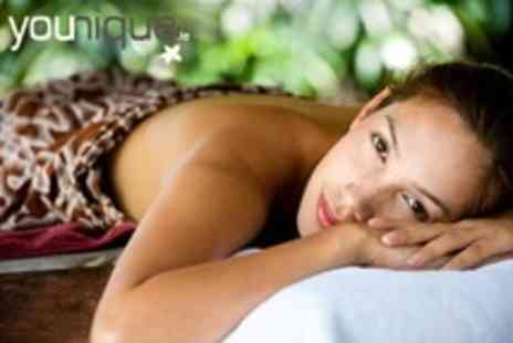 Younique Health Spa - Signature Facial With Two Massages - Save 55%