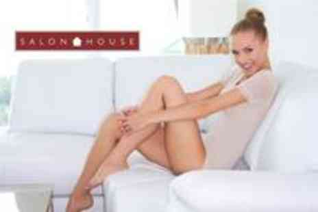 Salon House - Voucher to spend on laser hair removal in small areas - Save 92%