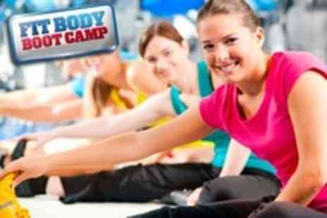 Fit Body Bootcamp - Three Boot Camp Weeks of Sessions - Save 88%