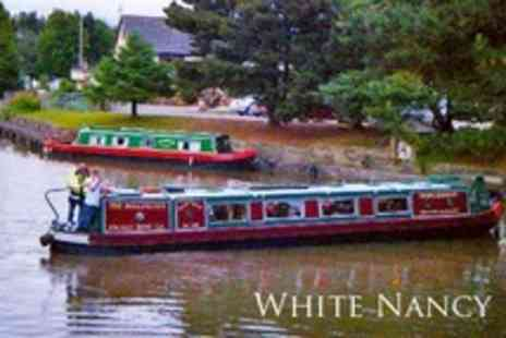 White Nancy - Narrowboat Cruise With Three Course Lunch For Two People - Save 50%