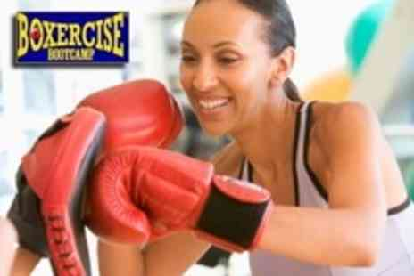 Boxercise Bootcamp - Six Exercise Classes Such as Boxercise, TRX Suspension or Kettlebells - Save 75%