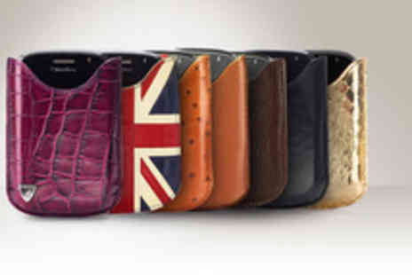 Aspinal of London - Leather BlackBerry case in a choice of designs - Save 69%