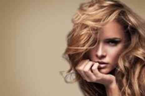 Glo Hair & Beauty - Half a head of highlights or a full head of colour plus a cut a blow dry - Save 70%