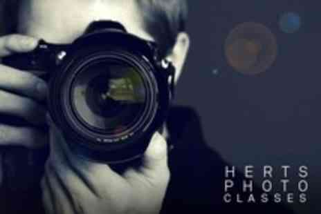 Herts Photo Classes - Three and a Half Hour Photography Class For One People with Herts Photo Classes - Save 52%