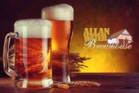 Allanwater Brewhouse - Deluxe Tour With Drinks Tasting and Food For One - Save 50%