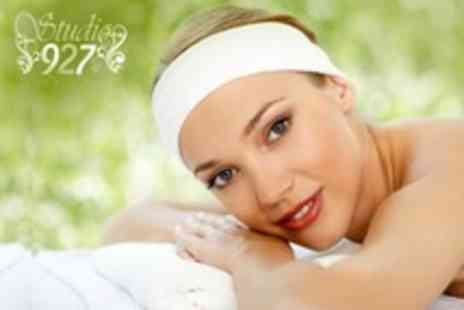 Studio 927 - Choice of Swedish, Deep Tissue or Sports Massage With Sensory Facial and Manicure - Save 70%