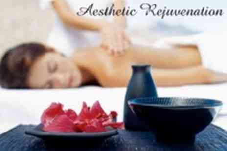 Aesthetic Rejuvenation - Choice of Massage One Such as Full Body and Indian Head - Save 67%