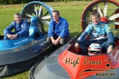 High Cross Hovercraft - 90 Minute Hovercraft Experience - Save 62%