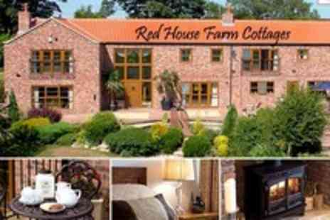 Red House Farm Cottages - Two Night Self Catering Cottage Stay For Up to Four - Save 65%