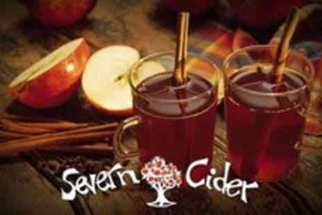 Severn Cider - Cider Milling and Pressing Session With Hot Cider and Mince Pies For One - Save 50%