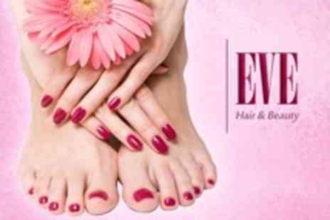 Eve Hair and Beauty - Deluxe Shellac Manicure - Save 70%