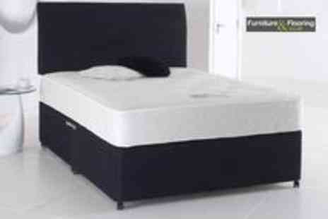 Furniture and Flooring - Luxury divan bed and mattress plus storage drawer - Save 73%