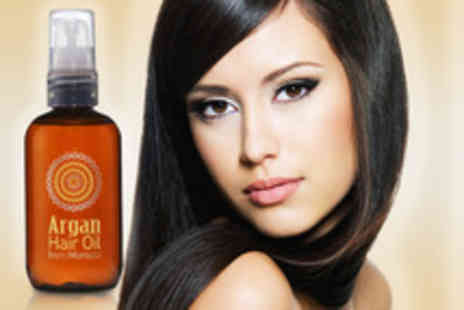 Blushlook.com - 100ml Moroccan Argan Hair Treatment Oil for 2 bottles - Save 72%