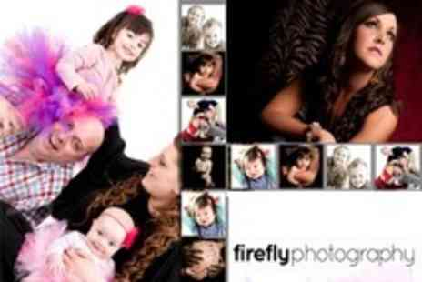 Firefly Photography - Family Photoshoot Plus Makeover Shoot Gift Voucher - Save 96%