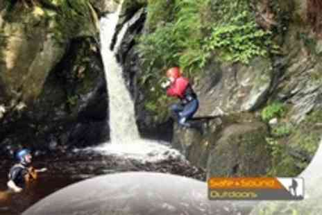 Safe & Sound Outdoors - Half Day Gorge Walking or Rock Climbing and Abseiling For Two - Save 71%