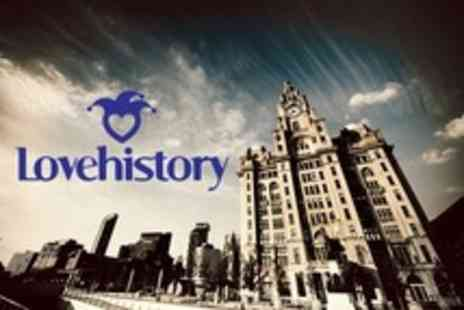 Lovehistory - Two Historical Tour Tickets With Drink - Save 57%