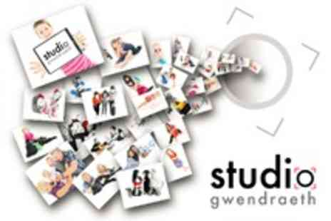 Studio Gwendraeth - Group Photoshoot With Framed Print - Save 88%