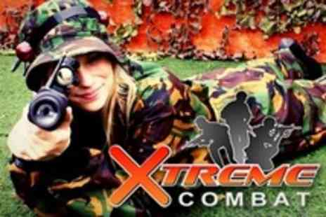 Xtreme Combat - Simulated Combat Game With Infrared Technology For Two - Save 60%