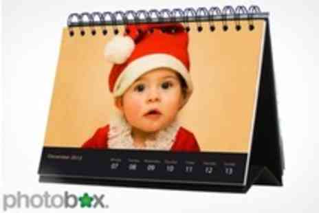 PhotoBox - Personalised Deluxe Desk Calendars - Save 67%