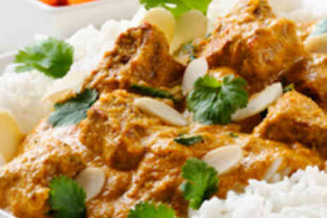 Masala Twist - Takeaway Indian Meal for Two with Bottle of Wine - Save 56%