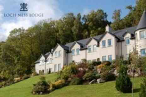 Loch Ness Lodge Hotel - One Night Stay For Two With Dinner and Breakfast - Save 54%