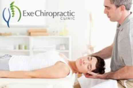 Exe Chiropractic Clinic - Two Chiropractic Treatments With Consultation and Report - Save 62%