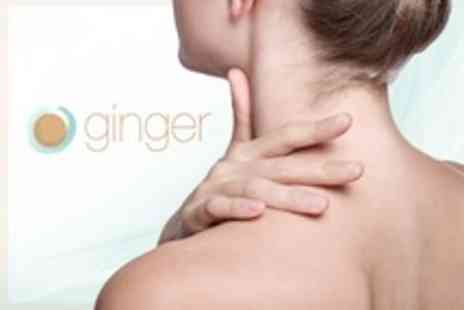 Ginger Natural Health - Osteopathy Consultation and Three Treatments - Save 79%