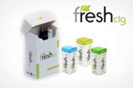 Freshcig - One Electronic Cigarettes Freshcig Starter Packs With 20 Refill Cartomisers - Save 60%