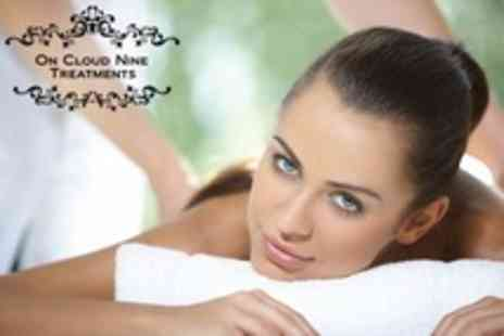 On Cloud Nine Treatments - Choice of One Hour Massage With Manicure - Save 64%