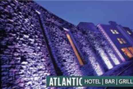 Atlantic Hotel - Overnight Stay for 2 with Breakfast - Save 50%