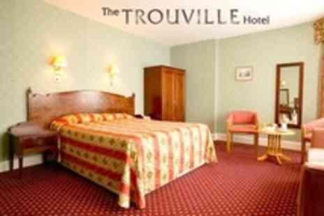 The Trouville Hotel - One Night Stay For Two With Three Course Dinner, Bottle of Wine and Breakfast - Save 31%