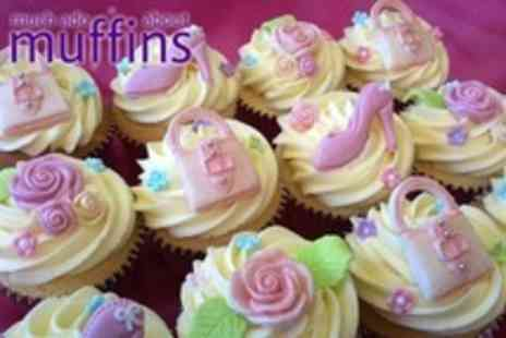Much Ado About Muffins - One Hour Cupcake Decorating Class For One - Save 57%