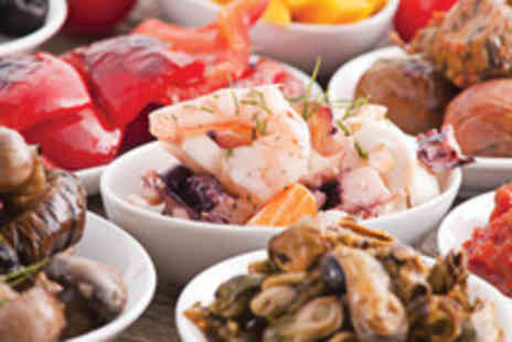 The Bridge - Tapas for 2 including 2 glasses of wine and 4 tapas dishes to share - Save 50%
