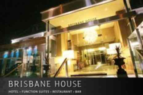 Brisbane House Hotel - One Night Stay For Two With Dinner, Wine and Breakfast - Save 57%
