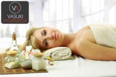 Vasuki Ayurveda - Pamper Package WIth Choice of Massage, Reiki or Reflexology With File and Polish - Save 58%
