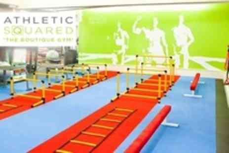 Athletic Squared - Ten Individual Gym Day Passes Plus Admission to Classes - Save 37%