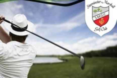 Sturminster Marshall Golf Club - Nine Holes of Golf For Two With Bacon Rolls and Coffee - Save 54%